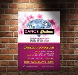 Flyer en Poster voor Dance Deluxe