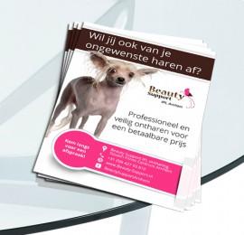 Flyer voor Beauty Support