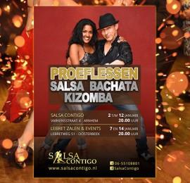 Flyer voor Salsa Contigo